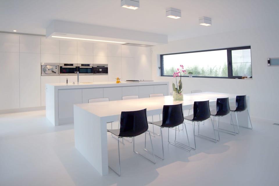 GF Concepts - moderne keuken wit
