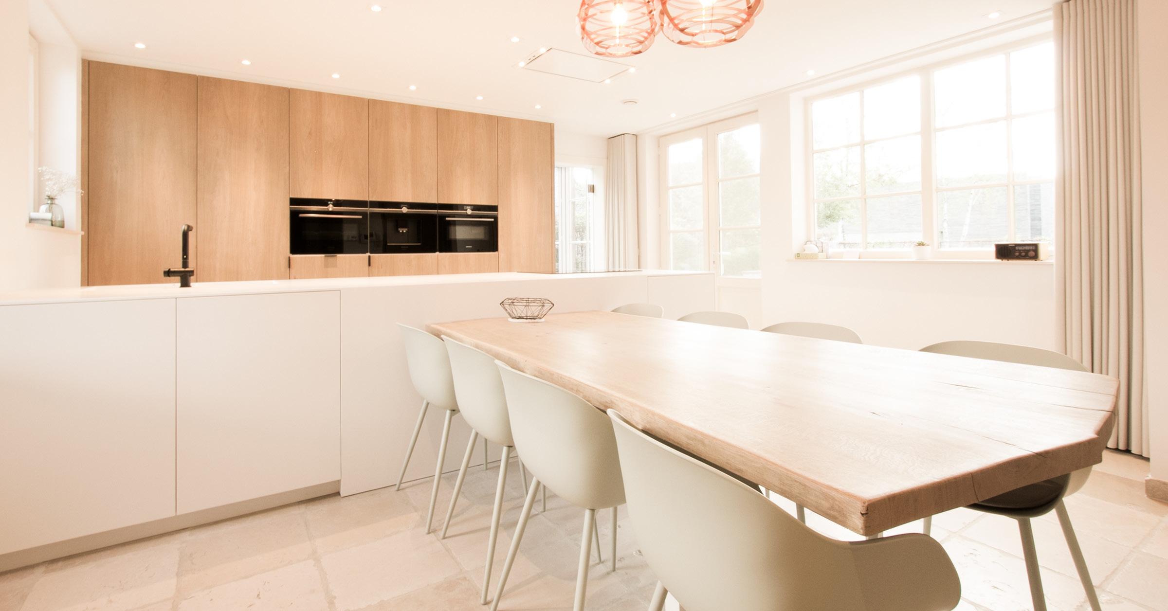 Een solid surface keuken voor de familie De Raeve-Placklé uit Zonhoven