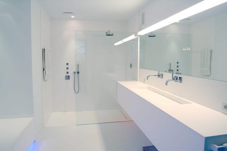 GF Concepts - moderne badkamer wit