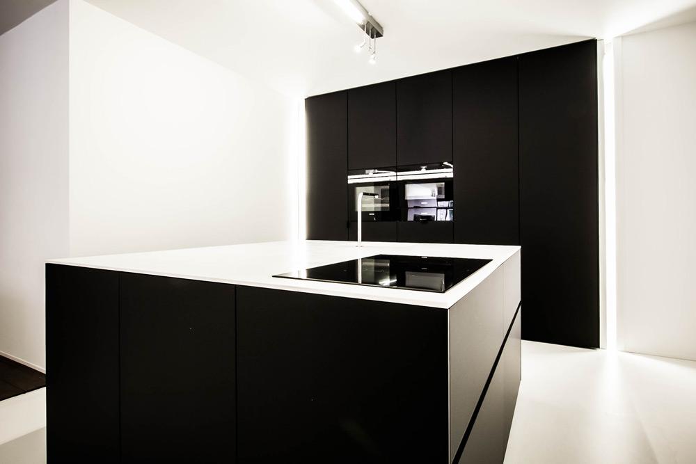 Strakke Zwarte Keuken : Zwarte keuken gf concepts u gf concepts gf concepts