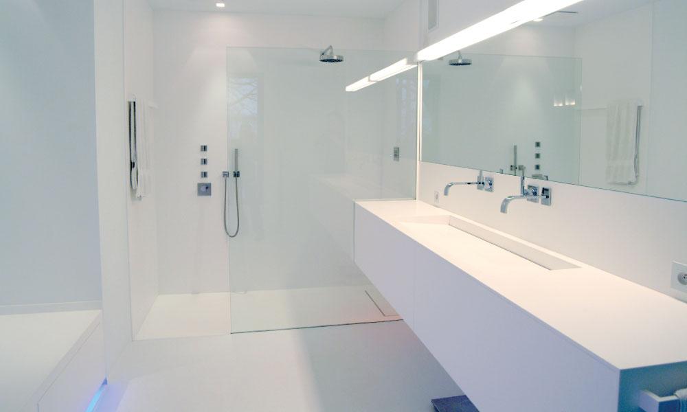 Inloopdouche Met Wastafelkast : Uw badkamer hedendaagse luxe u2013 gf concepts : gf concepts